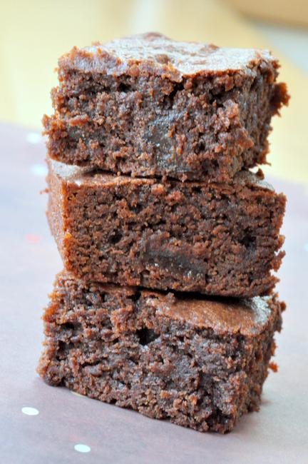 Brwnie fondant chocolat pruneaux