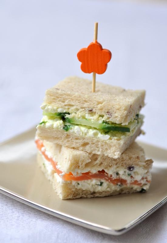 Cottage cheese sandwich club vue 1