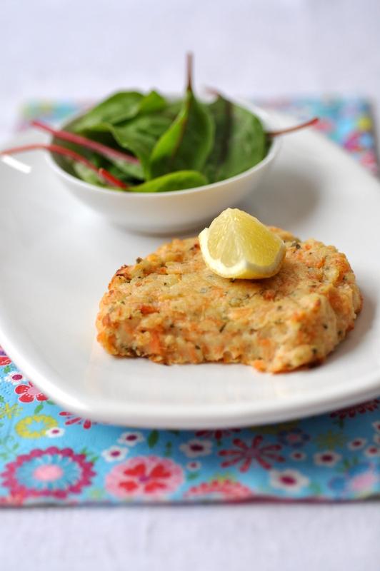 Salmon fish cake galettes de pommes de terre saumon