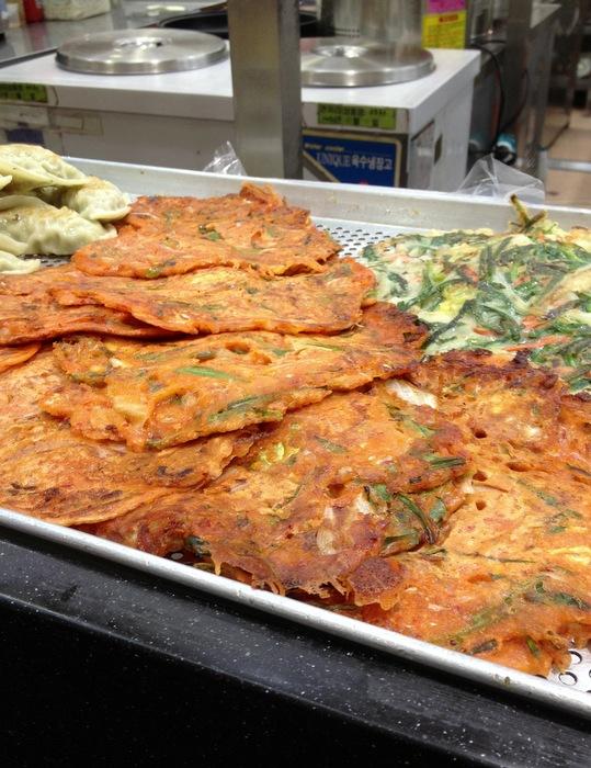 Kimchijeon crepes galettes kimchi