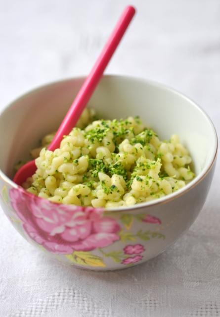 Risotto de pates au brocoli coquillettes