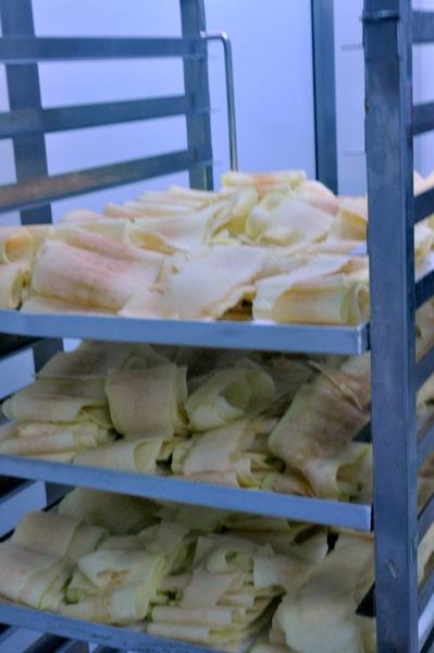 Lamelles de pommes pour tarte tatin patisserie des reves