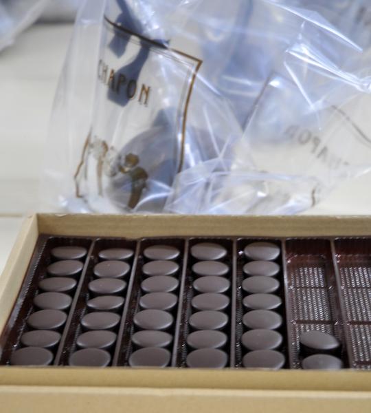Chocolat cassis violette patrice chapon