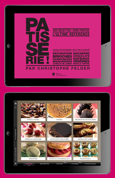 Appli ipad patisserie christophe felder