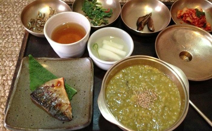Petite dejeuner coreen