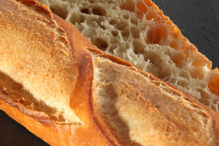 Baguette tradition retrodor croute  mie
