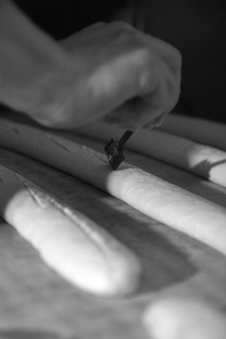 Fabrication baguette tradition retrodor guigne du pain
