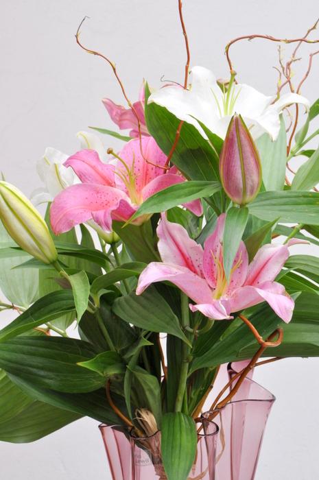 Bouquet de fleurs de lys