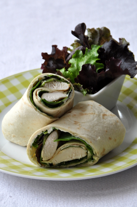 Chicken wrap poulet