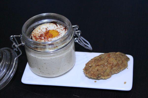 Oeuf cocotte falafel