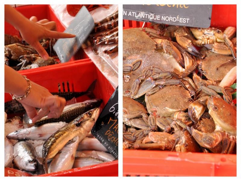 Halles poissons trouville sur mer