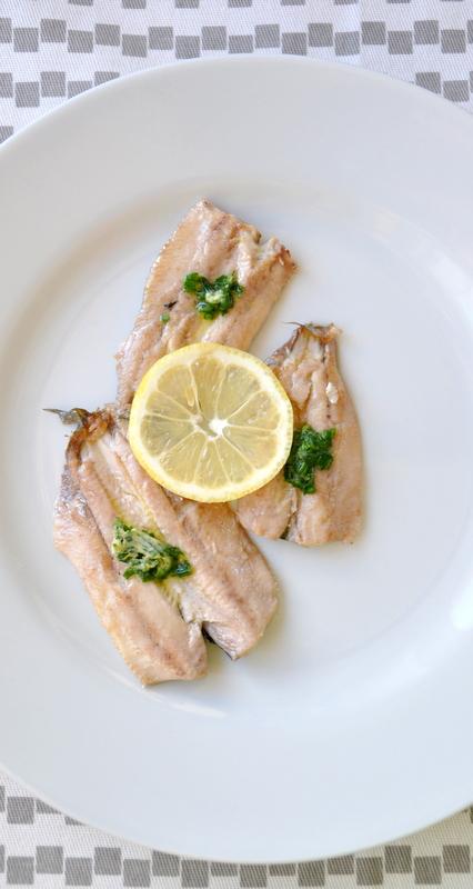 Sardines plancha beurre herbes citron