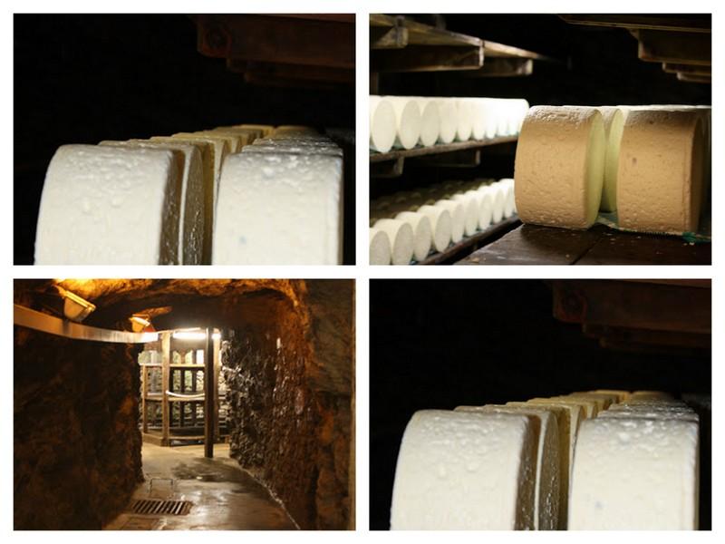 Affinage caves roquefort papillon