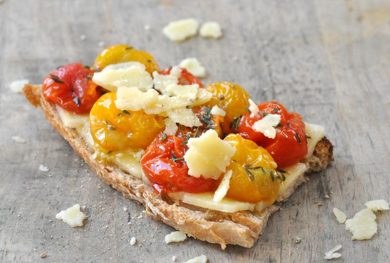 Bruschetta salers tomates