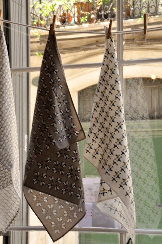 Torchons decoratoire boutique montpellier