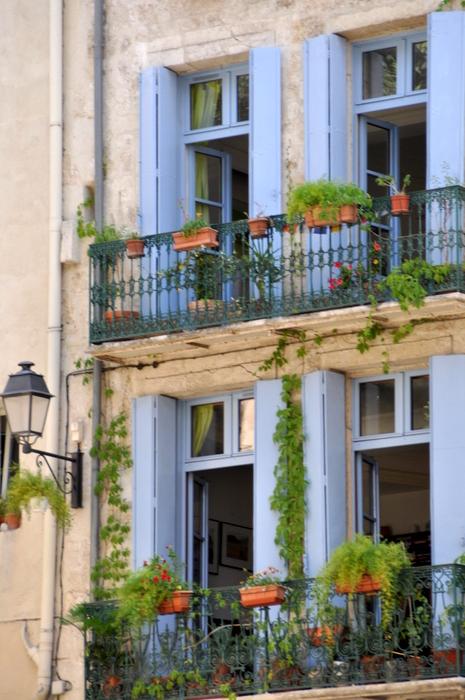 Volets bleux montpellier centre historique