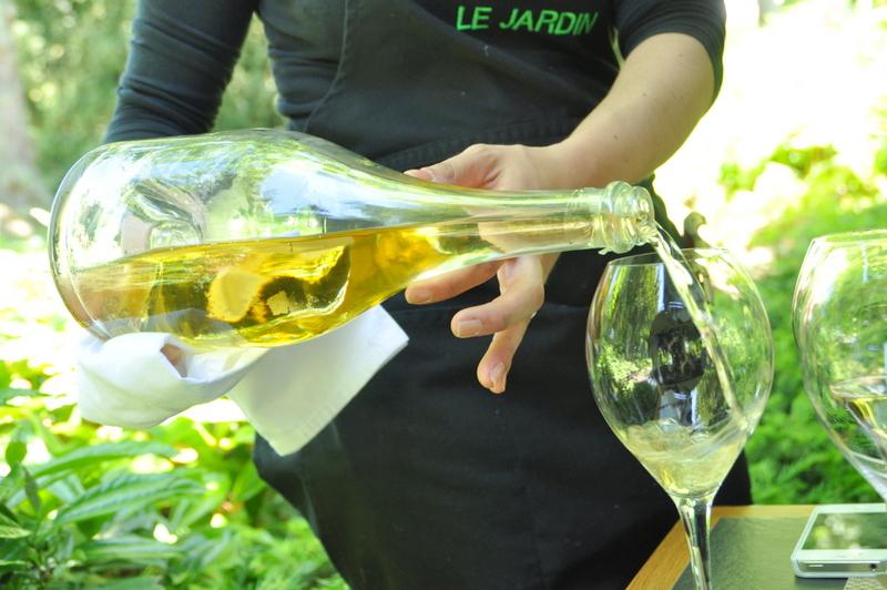 Champagne ruinart aperitif