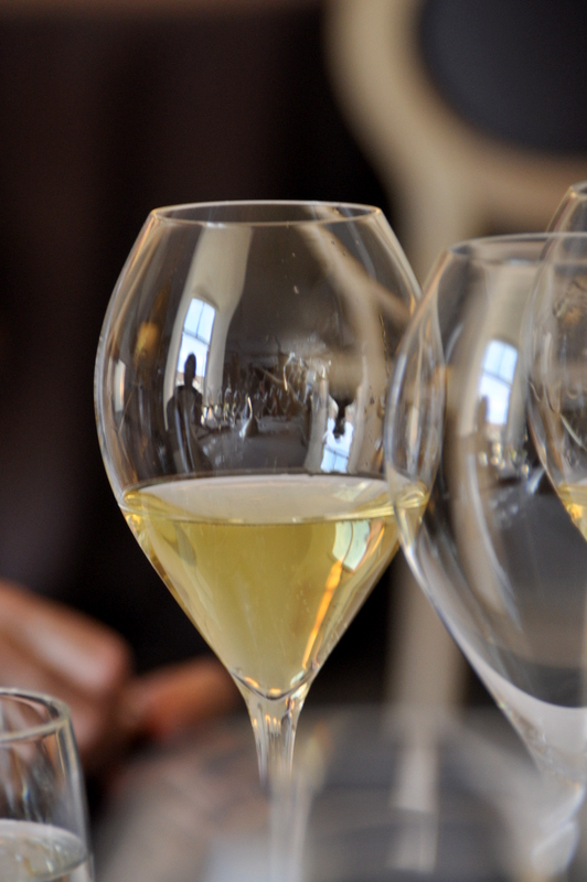 Degustation champagne ruinart