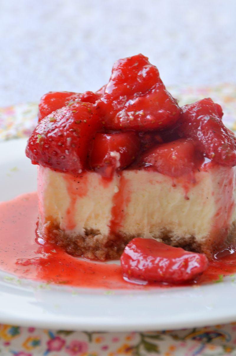 Cheeesecake fraises & framboises