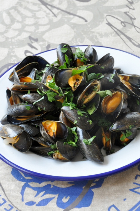 Moules marinieres multicuiseur philips