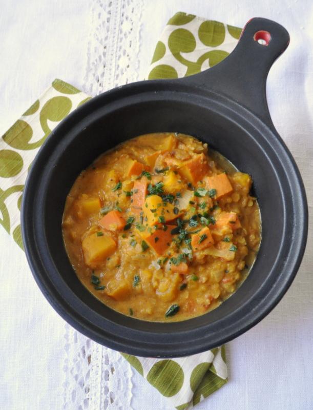 Curry potimarron lentilles corail vue 1