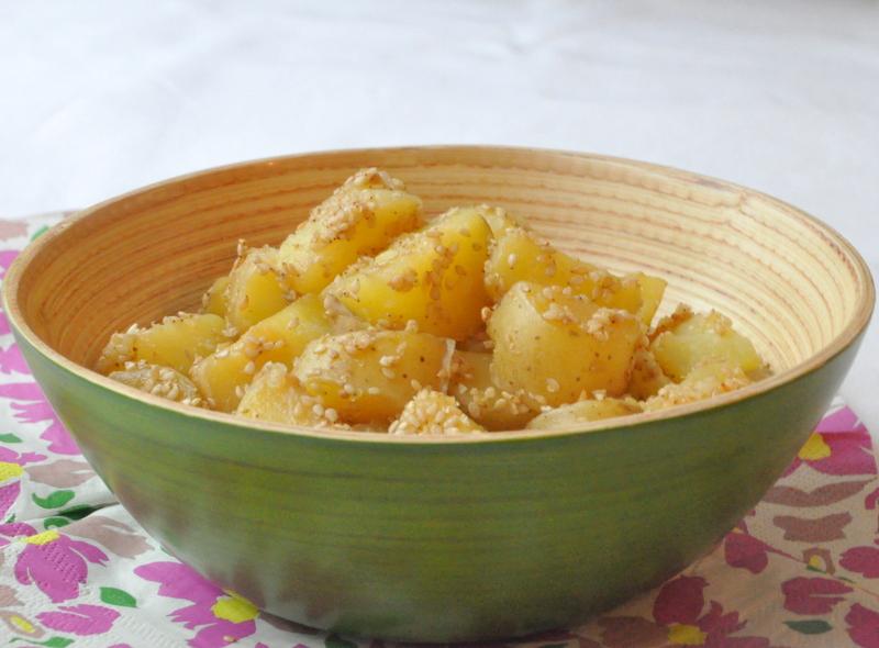 Pommes de terre confites sesame multicuiseur philips