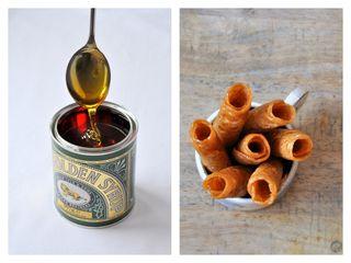 Tout savoir sur le golden syrop et recettes brandy snap & sponge pudding dans magazine 750g