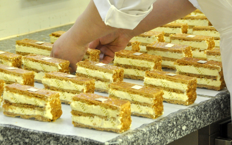 Mille feuille vanille fauchon