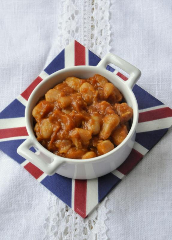 Baked beans maison aux haricots tarbais