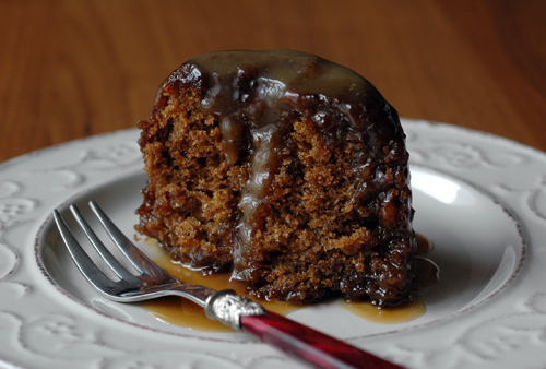 Sticky toffee pudding vue 1