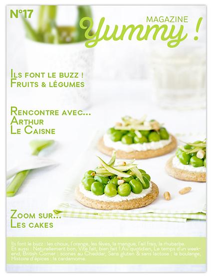 Yummy_N17_printemps_magazine en ligne cuisine