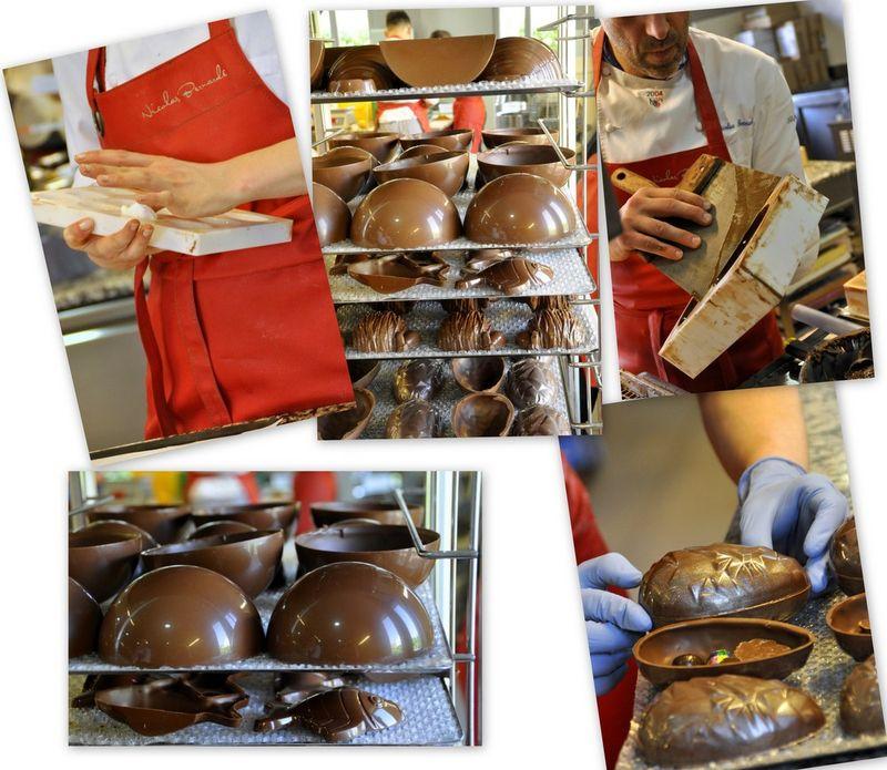 Nicolas bernarde chocolat de paques