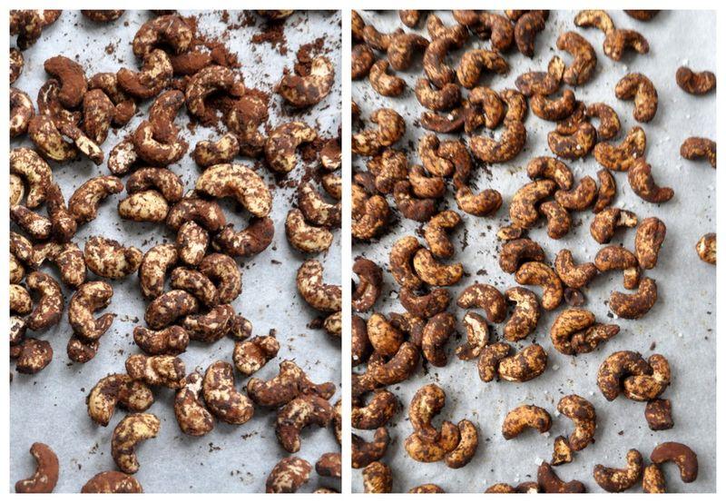 Noix de cajou grillees tamarin et cacao
