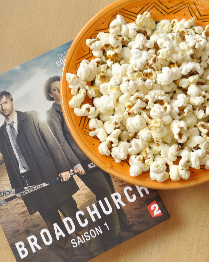 Pop corn et broadchurch