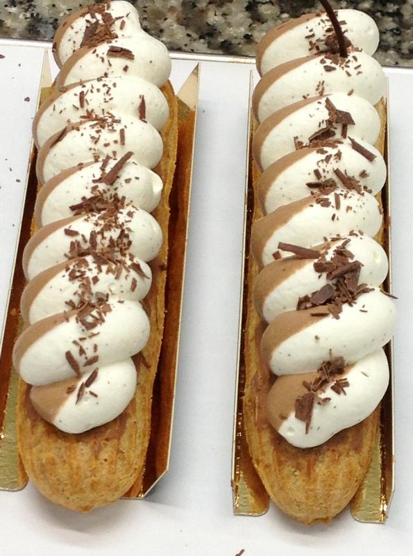 Eclair fauchon chocolat vanille