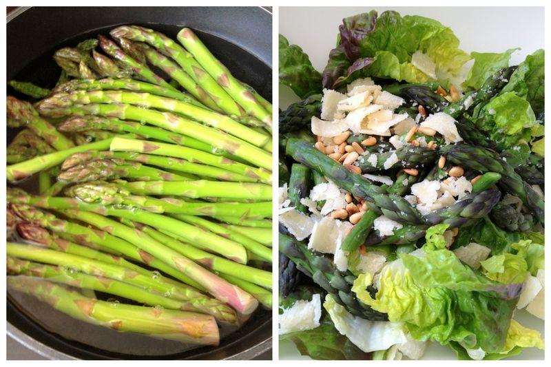 Salade retour de marche