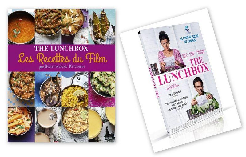 Dvd the lunchbox avec les recettes du film