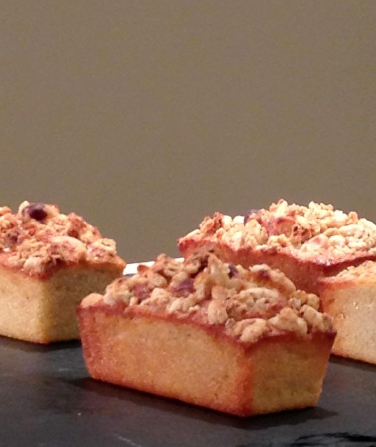Mini cakes pommes et céréales