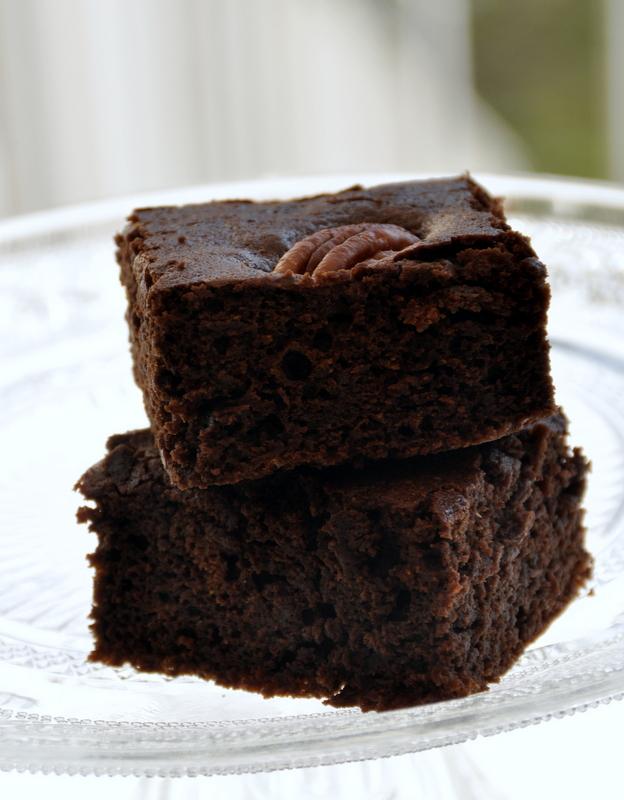 Brownie noix de pecan en 15 minutes