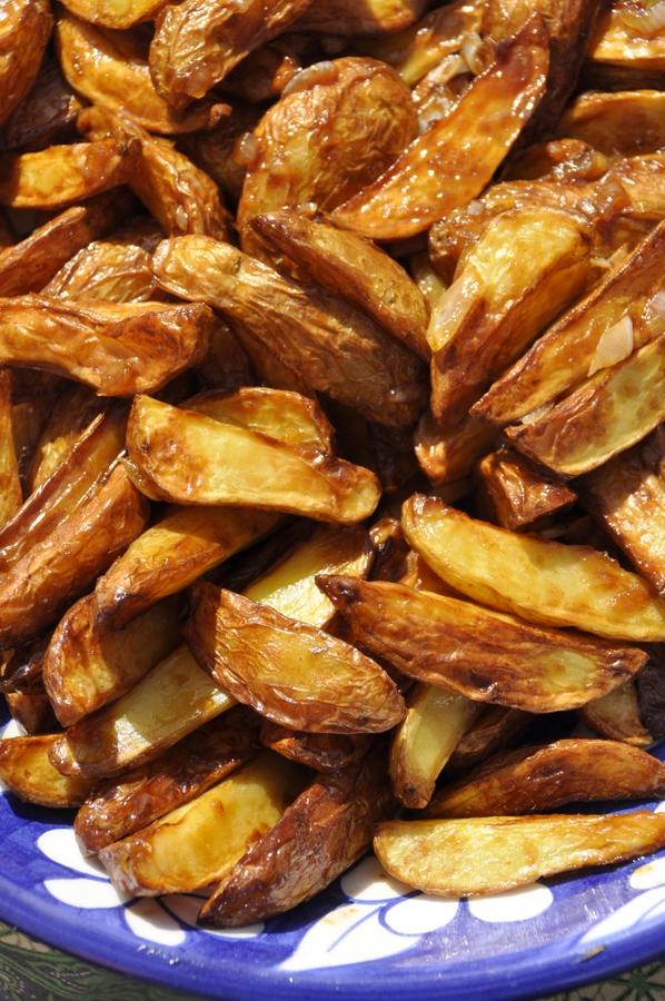 Pommes de terre aigre douces au tamarin