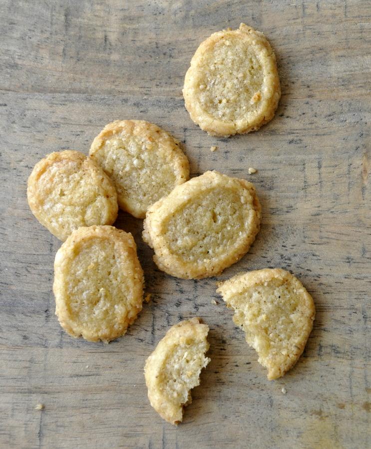 Sables au fromage ou sables au camembert
