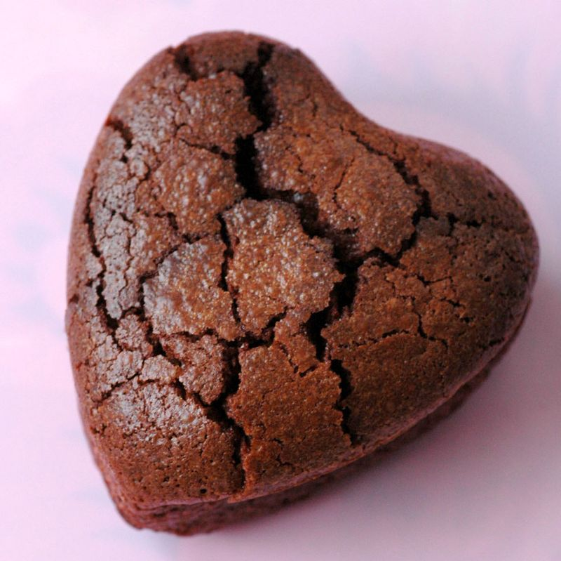 Gateau coeur chocolat