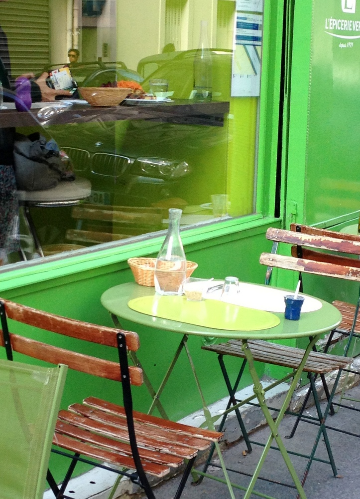 Resto bio vegetarien table verte paris 17