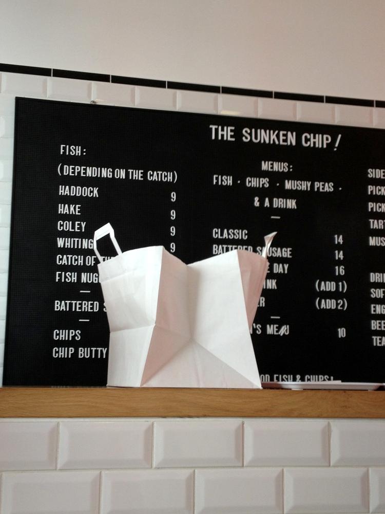 The sunken chip