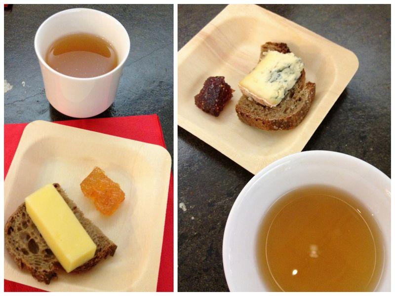 Accords thés et fromages maison de la chine