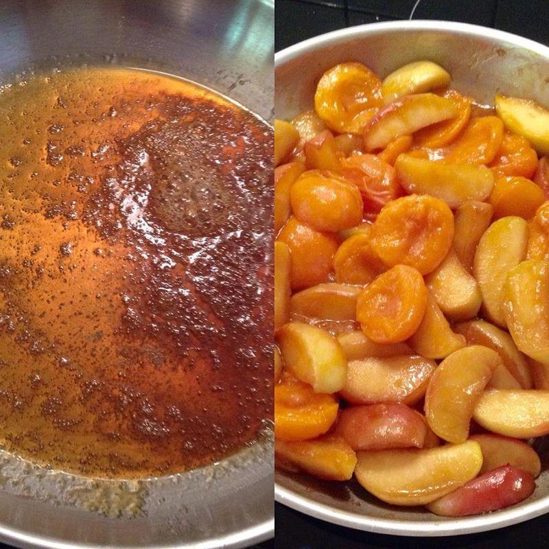 Dessert abricots