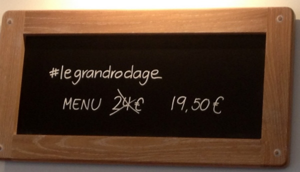750g la table le grand rodade
