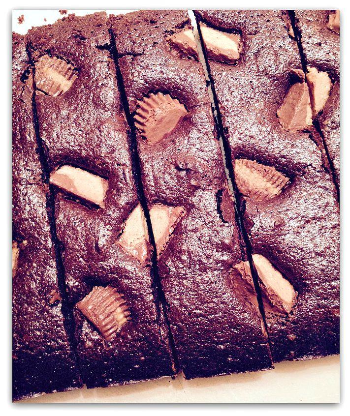 Brownie beurre de cacahuettes