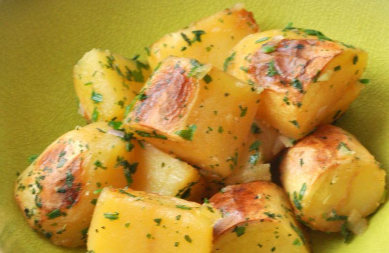 Pommes de terre roties sans mg horizontale
