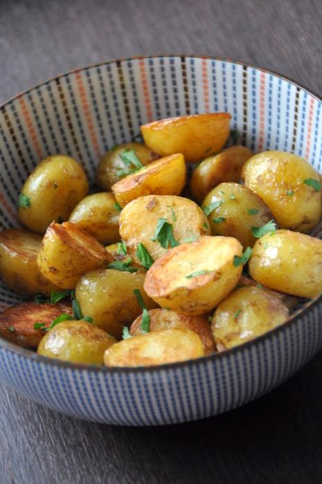 Pommes de terre sautees au ghee